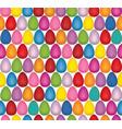 easter egg seamless pattern festive spring vector image vector image