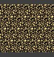 golden egg shards seamless pattern vector image vector image