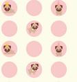 life pug vector image