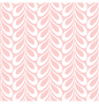 Pink lacy leaves background vector image vector image