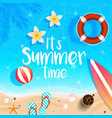 summer background 2018 7 vector image vector image