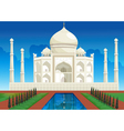 Taj mahal vector | Price: 3 Credits (USD $3)