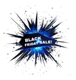 Black Friday sale explosion with particles vector image vector image