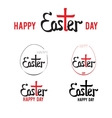 easter hand lettering 002 vector image