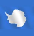 flag of antarctica vector image vector image