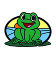 frog icon in trendy design style vector image vector image