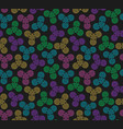 hand spinners seamless pattern on vector image vector image