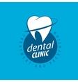 logo dentistry vector image vector image