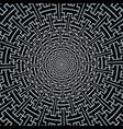sayagata swastika ornament circle pattern vector image vector image