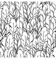simple monochrome seamless feather vector image