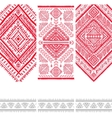 Vintage ethnic set of banners vector image vector image