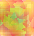 Abstract background pattern geometric autumn vector image vector image