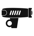 bike flashlight icon simple style vector image vector image