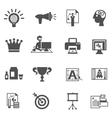 Branding Icons Black vector image vector image