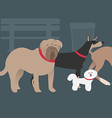 dogGang preview vector image