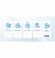 human factors in ergonomics onboarding mobile app vector image vector image