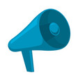 megaphone icon in flat style design element vector image vector image