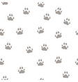 print the paws of the wolf vector image vector image