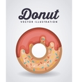 sweet donut design vector image vector image