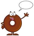 Talking Donut Cartoon