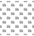 brand truck pattern seamless vector image