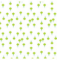 chinese paper light green on a white background vector image