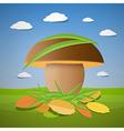 mushroom vector image vector image