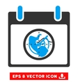 Radar Calendar Day Eps Icon vector image vector image