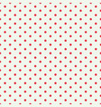 red dot seamless pattern design for wallpaper vector image vector image