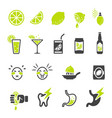 sour icon vector image vector image
