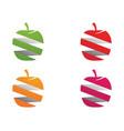 Apple logo and symbols template