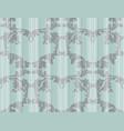 baroque pattern background vintage vector image vector image