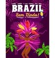 Brazil Carnival Poster vector image