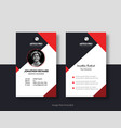 id card design vector image vector image