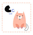 letter c funny alphabet for young children