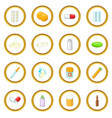 medicine drugs icons circle vector image
