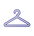 plastic clothes hanger laundry tool icon vector image