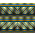seamless golden lines knitting pattern vector image vector image