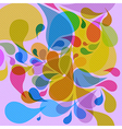 Retro colorful background vector image