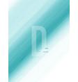 abstract background design line green gradient vector image vector image