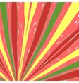 Color Striped Background vector image vector image