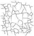 cracks texture vector image vector image