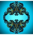 Decorative Flourish Frame vector image vector image
