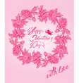 flower card 3 380 vector image vector image
