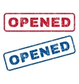 Opened Rubber Stamps vector image vector image