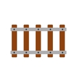Railroad icon flat vector image