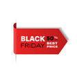 special offer sale promo marketing black friday vector image
