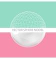 Sphere - design elements vector image vector image