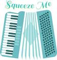 Squeeze Accordion vector image vector image