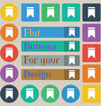 Web stickers tags and banners Sale vector image vector image